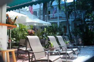 Poolside at the Key West Harbor Inn
