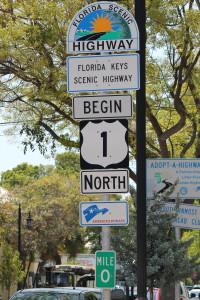 Mile Zero in Key West