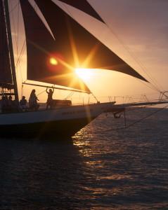 Sunset Sail in Key West, FL
