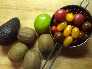 Tomato and Kiwi Salad recipe
