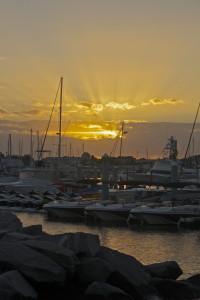Sunrise at the Historic Sea Harbor, Key West, FL
