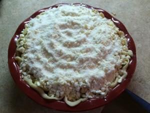 Mom's Apple Cream Pie Recipe