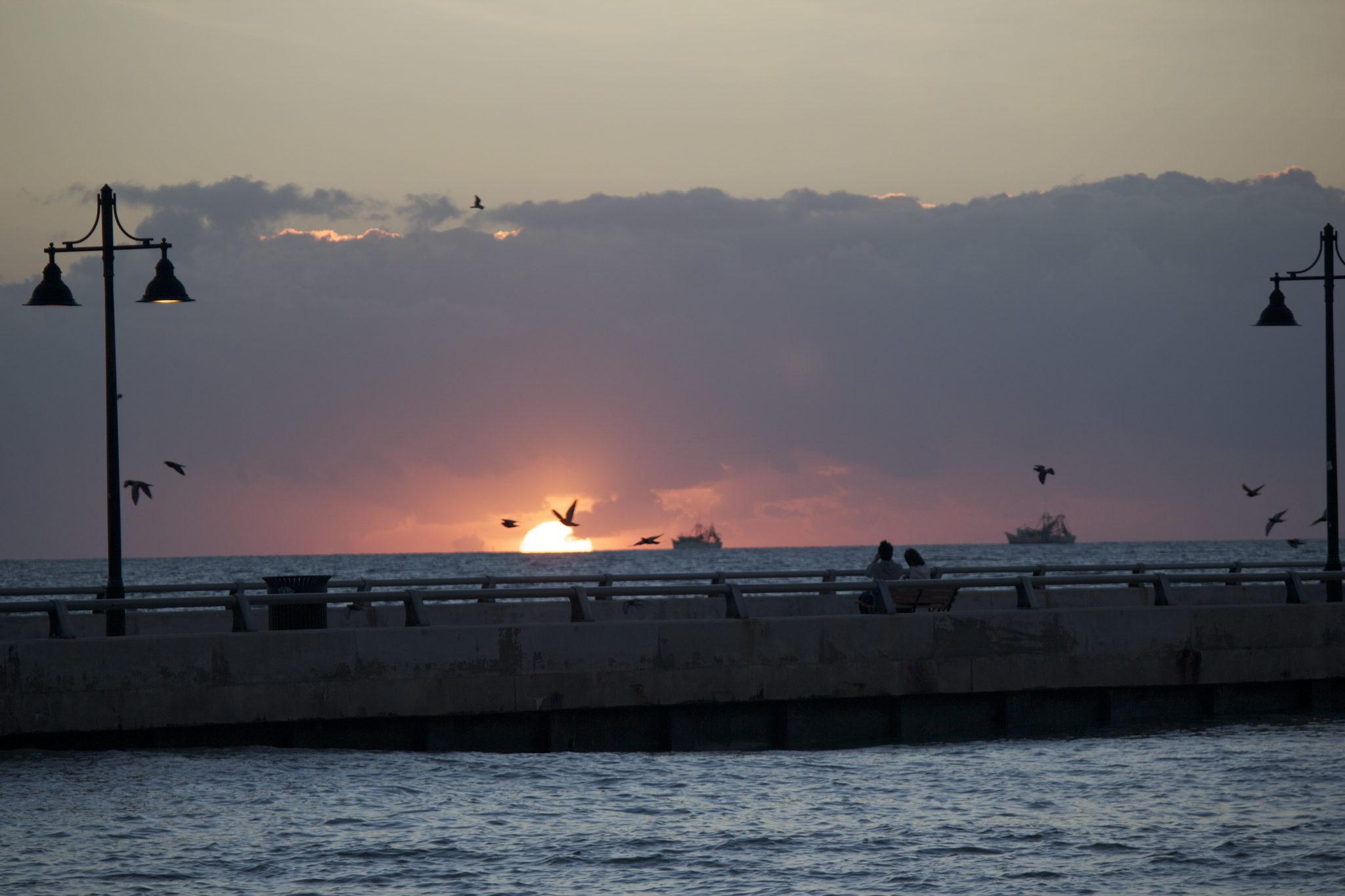 Sunrise in Key West, FL