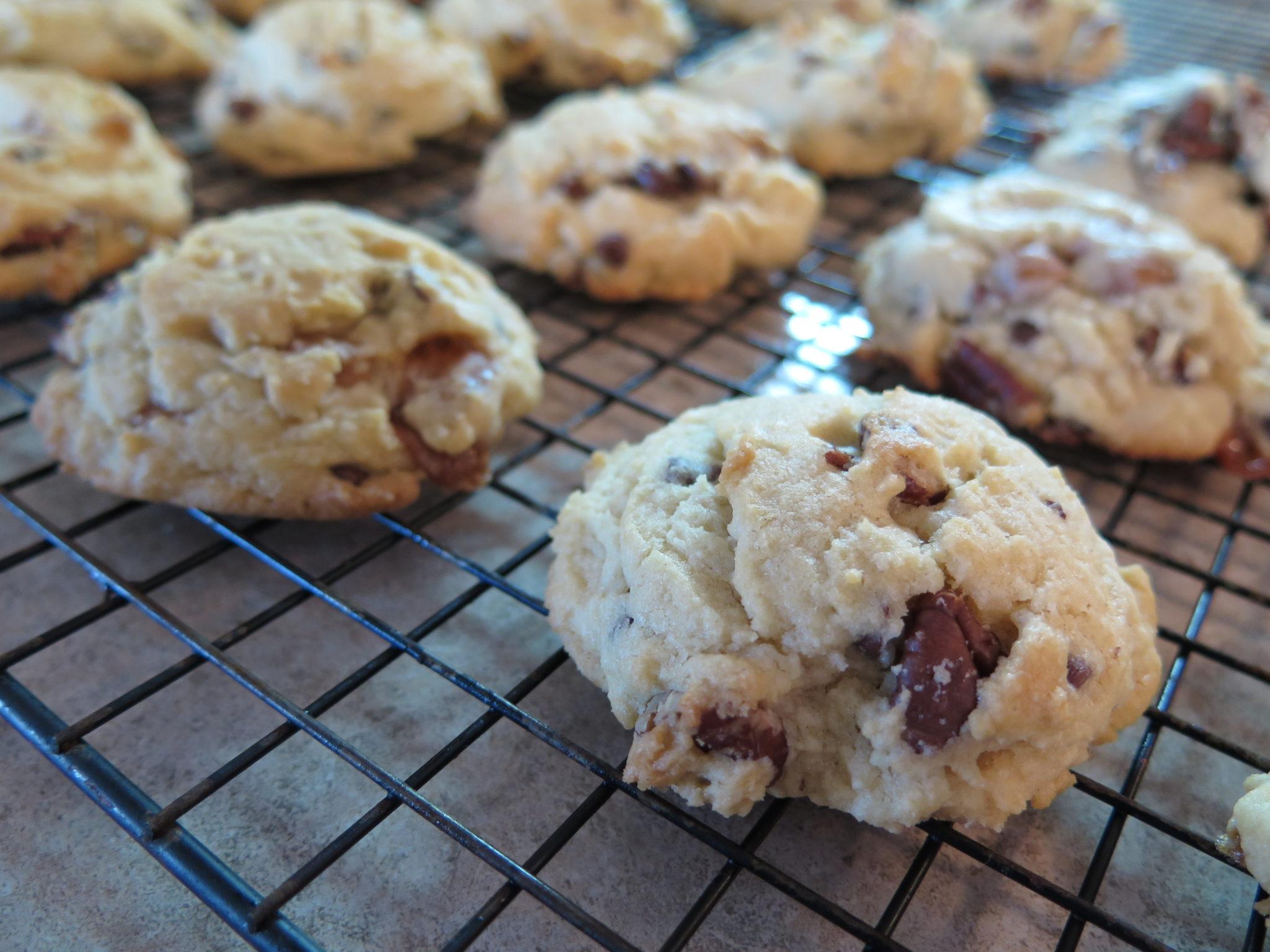Caramel Chocolate Pecan Cookie Recipe