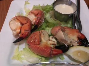 Stone Crab, Hobo's Cafe, Key Largo