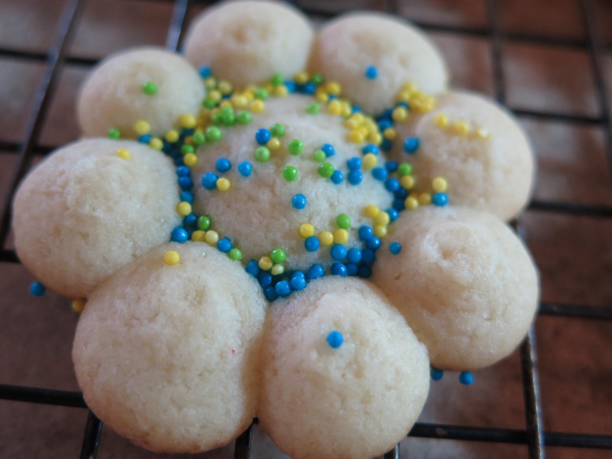 pampered chef spritz cookie recipe