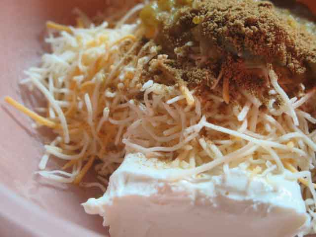 cream cheese chicken stuffed peppers