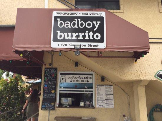 bad boy burrito key west