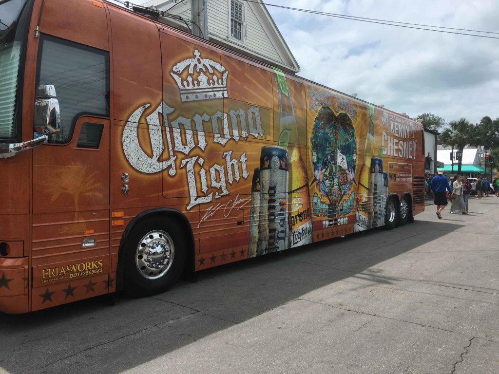 Kenny Chesney bus