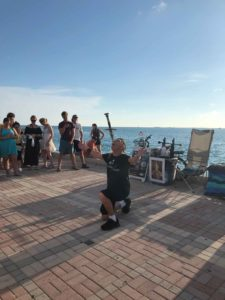 Mallory Square performer in Key West
