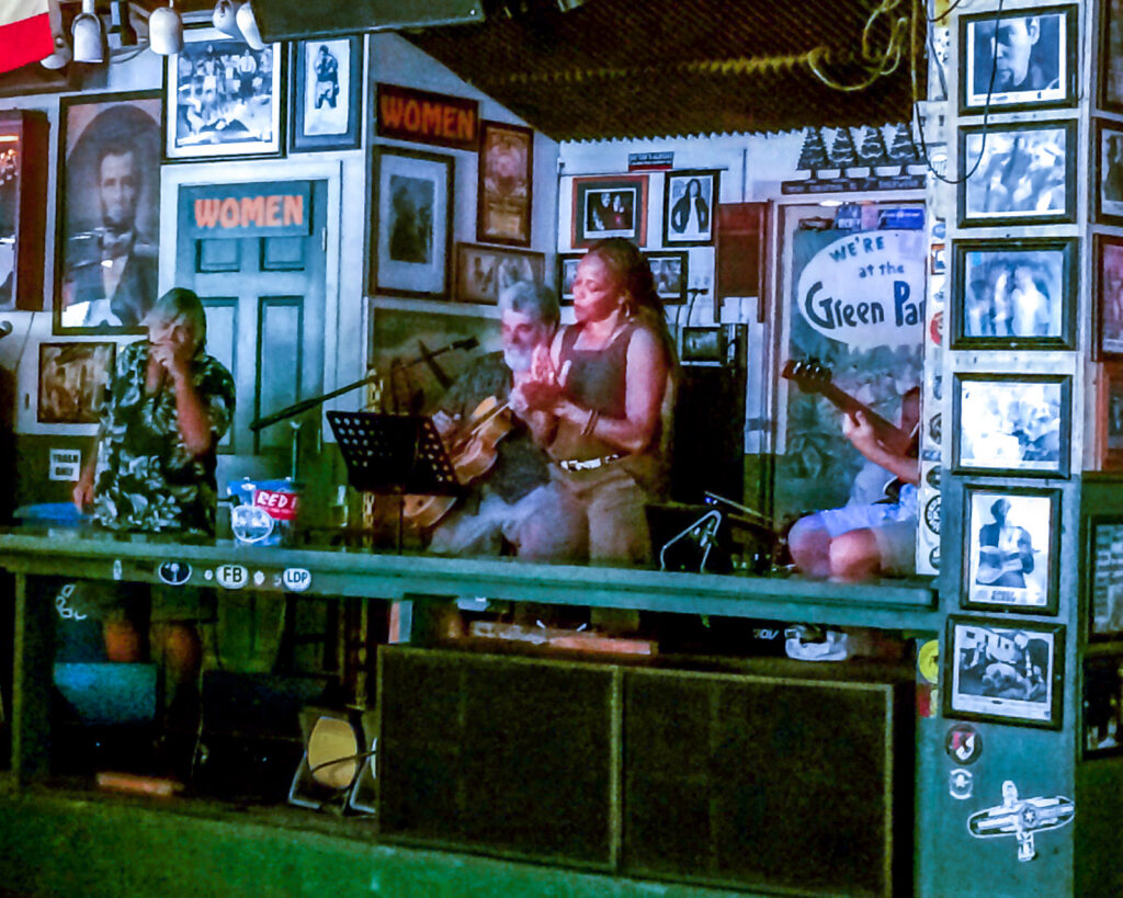 green parrot live band