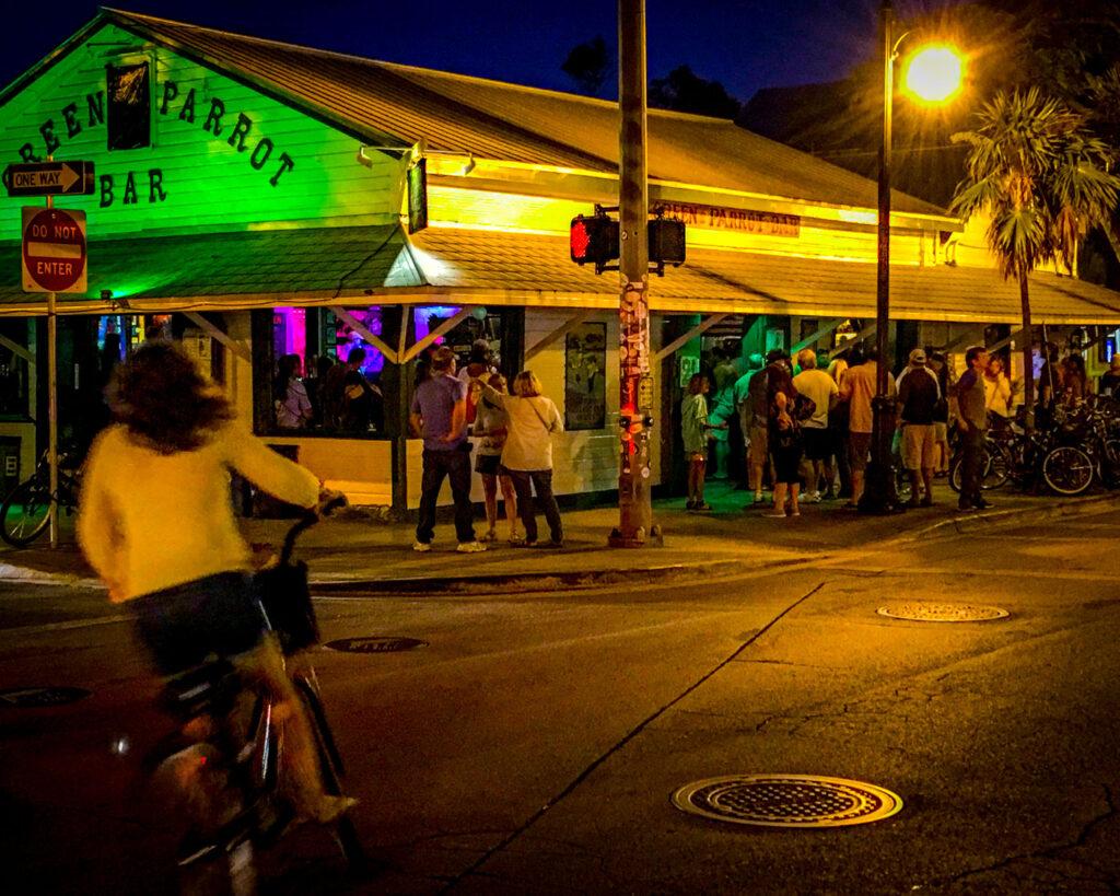 green parrot bar key west florida street view