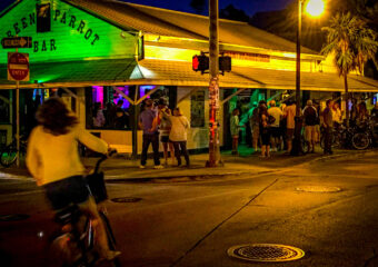 green parrot bar key west florida street view