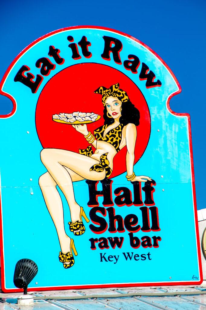 Half Shell Sign