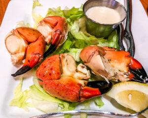 Hobos stone crab dinner