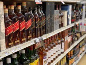 irish whiskey bottles