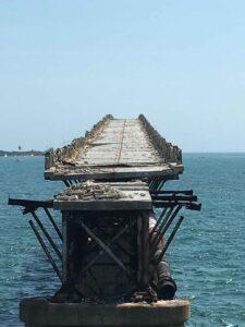 Key west Road Trip old overseas highway bridge