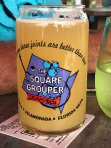 Key West Road trip beer at square grouper