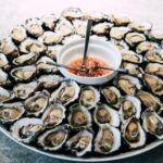 best oysters in Key West a plate of fresh oysters