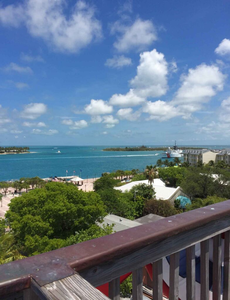 view from shipwreck museum key west