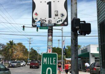 mile 0 sign key west