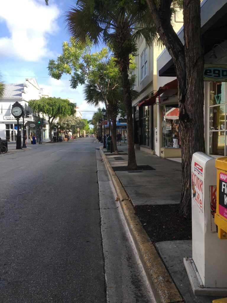 what not to miss key west Duval Street view